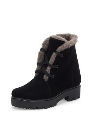 Ботинки черные | 5256690