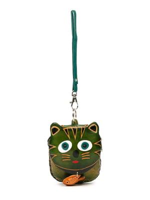 Брелок-ключниця зелений | 5298689