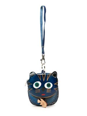 Брелок-ключница синий | 5298688