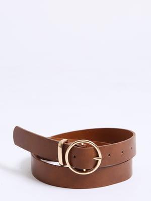 Ремінь коричневий | 5296330