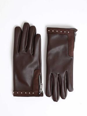Перчатки коричневые | 5296335