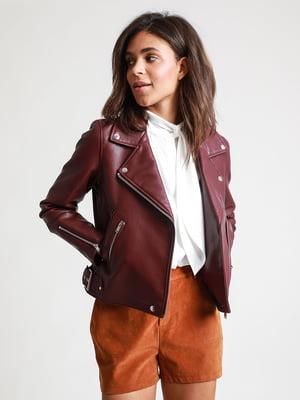 Куртка бордовая | 5296364