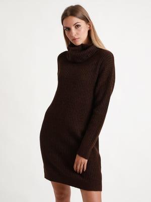 Сукня шоколадного кольору | 5296372