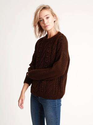 Джемпер темно-коричневый | 5296480