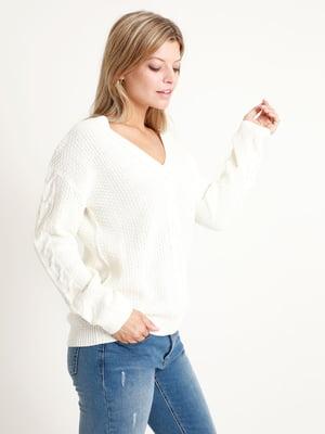 Пуловер белый | 5296551