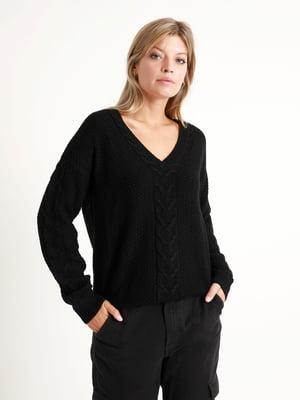 Пуловер черный | 5296569