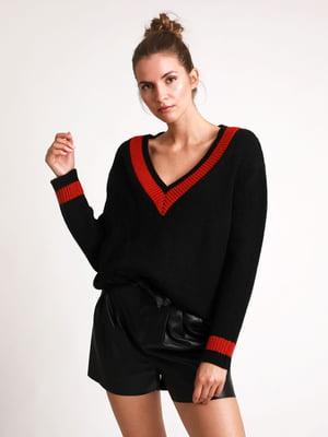 Пуловер черный | 5296570