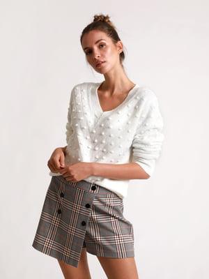 Пуловер молочного кольору | 5296577