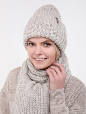 Комплект: шапка и шарф | 5302254