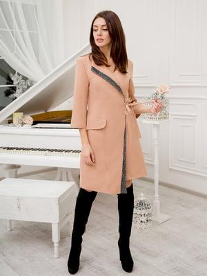 Сукня бежевого кольору | 5302751