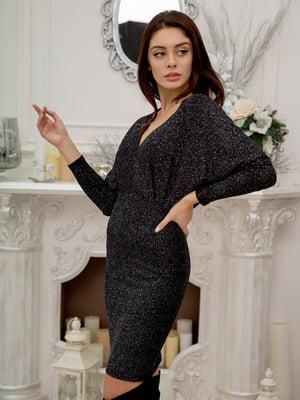 Сукня чорно-срібляста   5302754