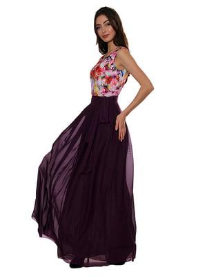 Платье бордовое   5303446