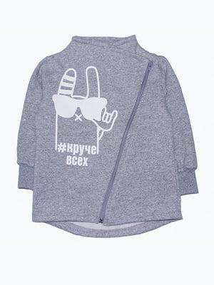 Джемпер серый | 5303536