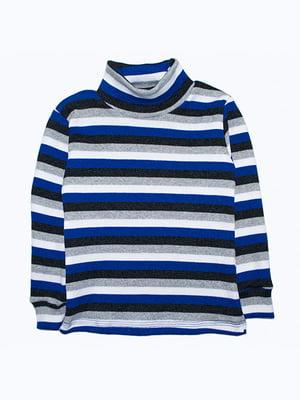 Водолазка синьо-чорна | 5303564