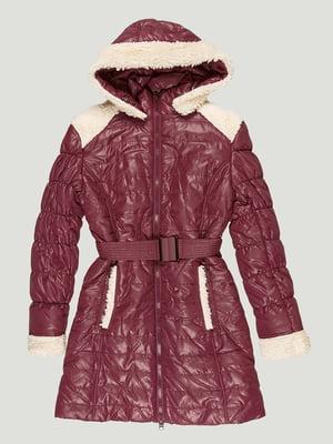 Куртка бордовая | 5280567