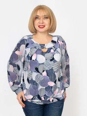 Блуза в принт | 5303751