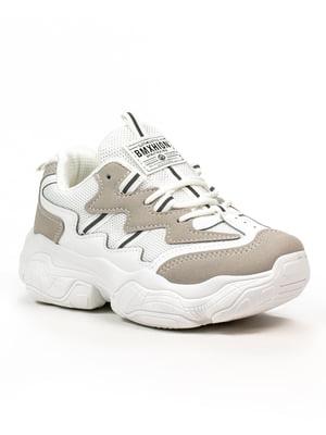 Кросівки біло-сірі | 5302830