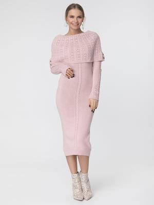 Сукня кольору пудри | 5303841