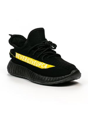 Кросівки чорно-жовті | 5302861