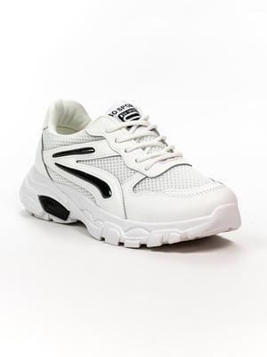 Кроссовки бело-черные | 5302858