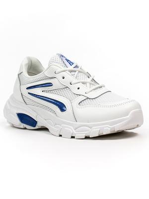 Кросівки біло-сині | 5302877