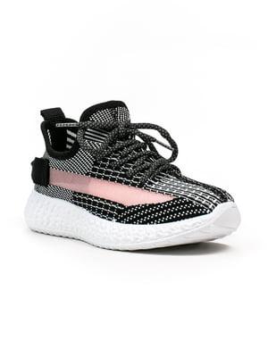 Кроссовки черно-белые | 5302890