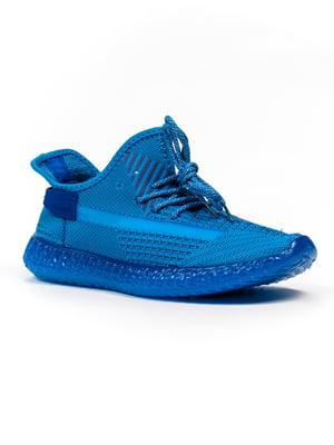 Кроссовки синие   5302898
