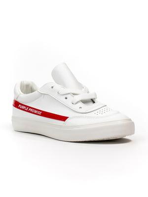 Кеди біло-червоні   5302823