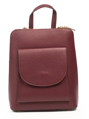 Рюкзак цвета марсала | 5303433