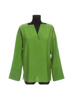 Блуза зелена | 5304413