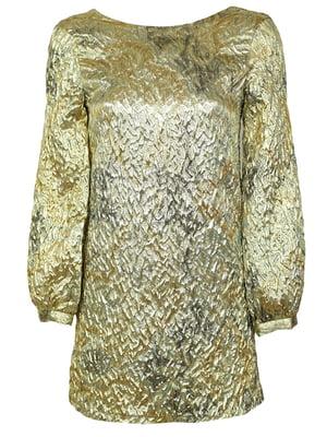 Блуза золотистая | 5304456