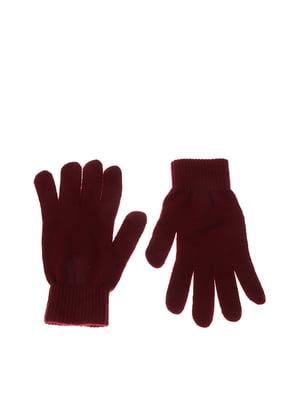 Перчатки бордовые | 5304505