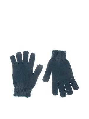 Перчатки темно-бирюзовые | 5304511