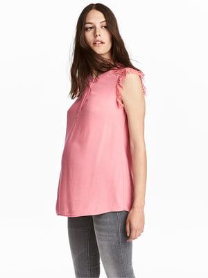Блуза для вагітних рожева | 5304543