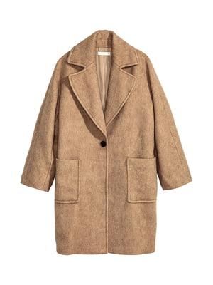 Пальто коричневое | 5304643