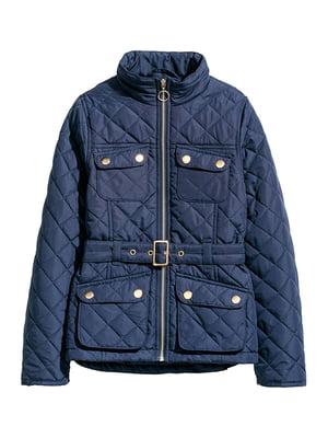Куртка темно-синяя | 5304936