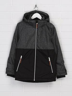 Куртка серо-черная | 5304949