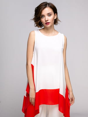 Туника бело-красная | 5301174