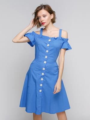 Сукня синя | 5301723