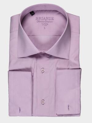 Рубашка сиреневая | 5303851