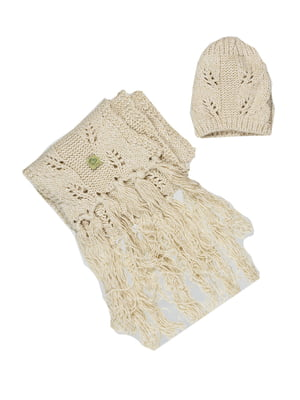 Комплект: шапка і шарф | 5303670