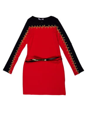 Сукня червоно-синя | 5303628