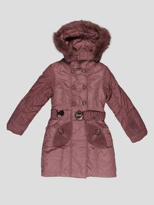 Пальто кольору капучино | 5297971