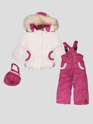 Комплект: куртка, півкомбінезон і сумка | 5297965
