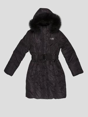 Пальто чорне | 5297980