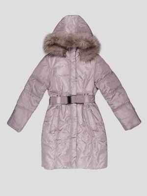 Пальто світло-сіре | 5297981