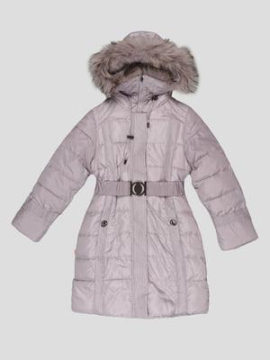 Пальто світло-сіре | 5297975