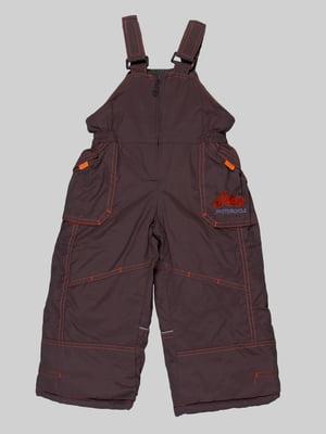 Штани коричневі | 5296097
