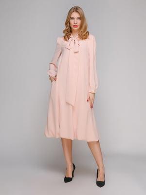 Сукня кольору пудри | 5301382