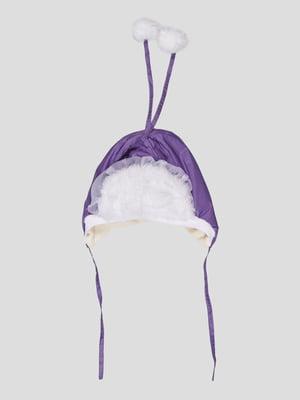 Шапка фіолетова | 5289892